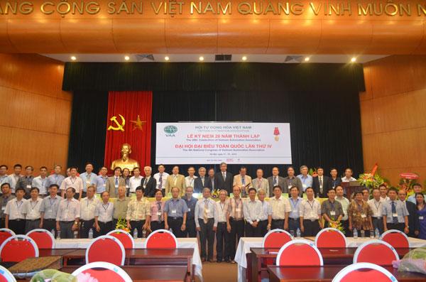 Hội TĐH Việt Nam ra mắt Ban chấp hành khóa IV