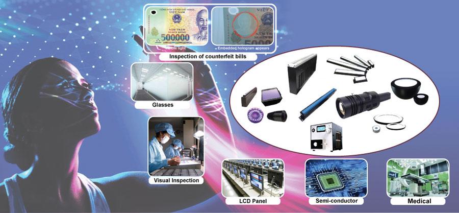 Led công nghệ cao của AITec được ứng dụng để kiểm tra chất lượng, truy vết nguồn gốc, khuyết tật sản phẩm…trong các dây chuyền sản xuất.